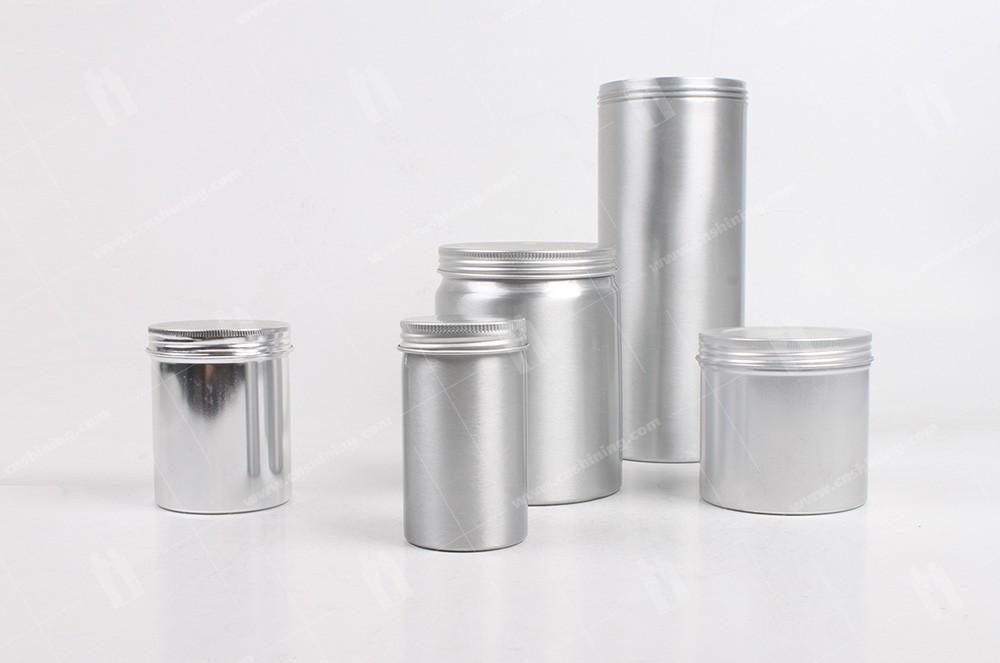 Aluminum Canister Shining Aluminum Packaging