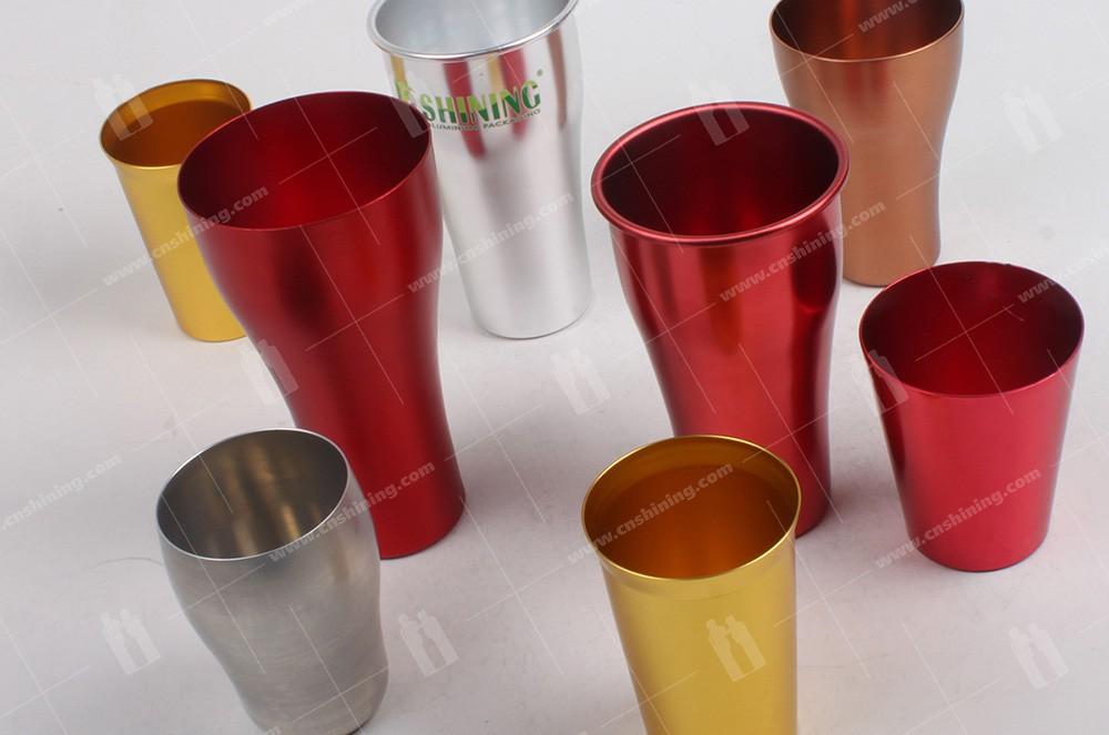 3 of aluminum-cup