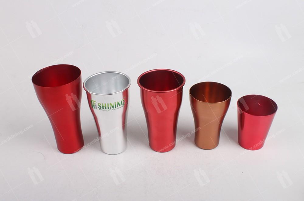 4 of aluminum-cup