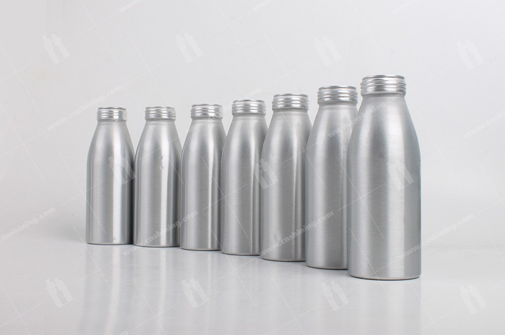 2 of aluminum-juice-bottle