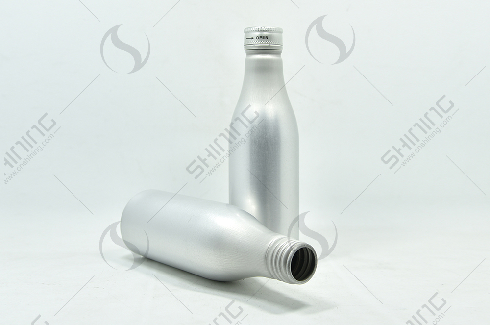 1 of Aluminum Soda Bottle