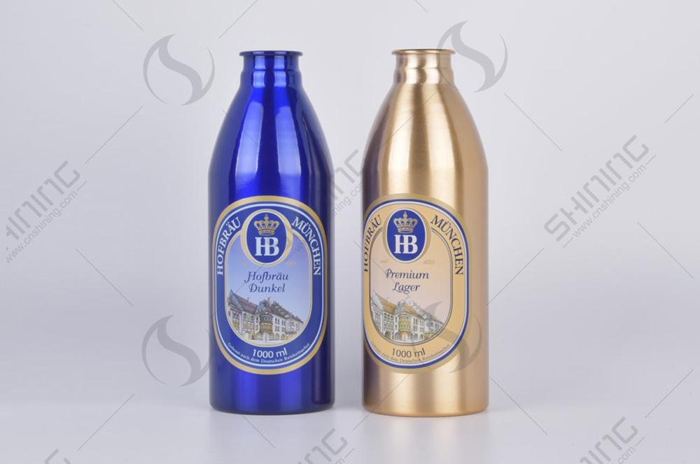 1 of Aluminun Craft Beer Bottle