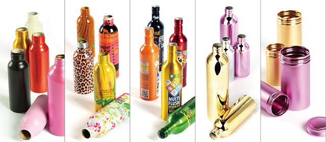 The Decorative of Aluminum bottle