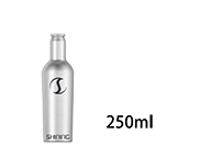 250ml Aluminun Liqueur Bottle