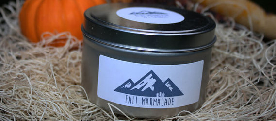 Aluminum Canister For Marmalade Candle