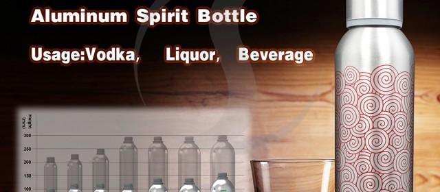 Why choose Aluminum Bottle for Spirit?