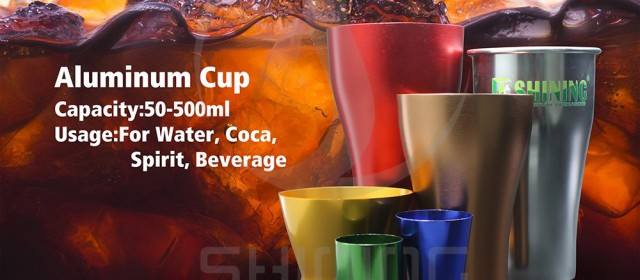 Aluminum tumblers & aluminum cup are perfect for indoor and outdoor use
