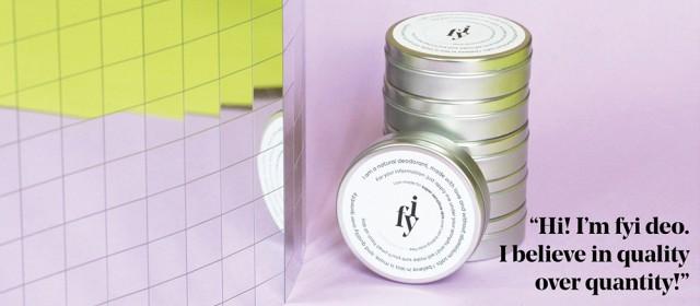 Aluminum Jar for Natural Deodorant Original