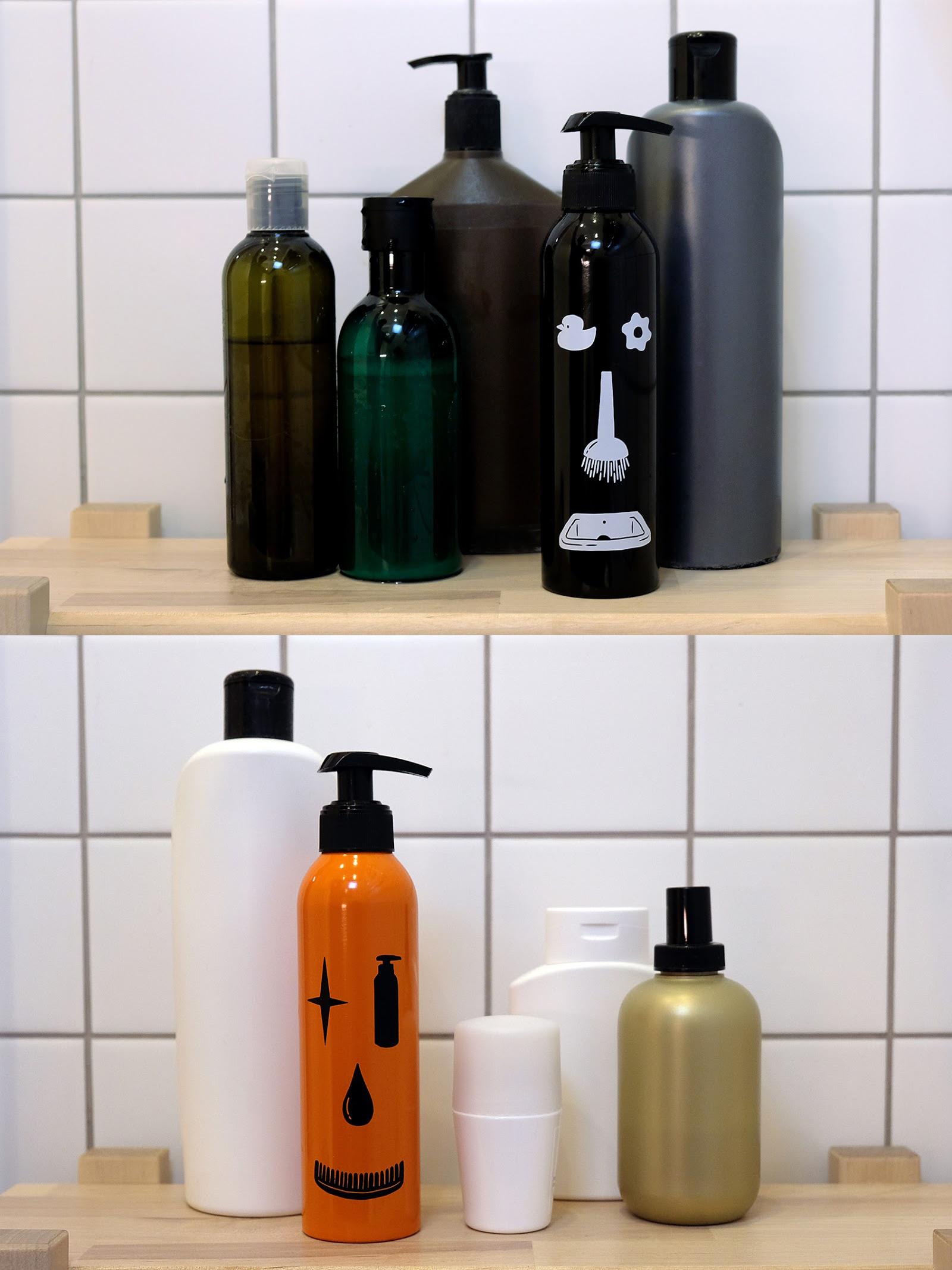Aluminum Bottle for Mens Shampoo (2)