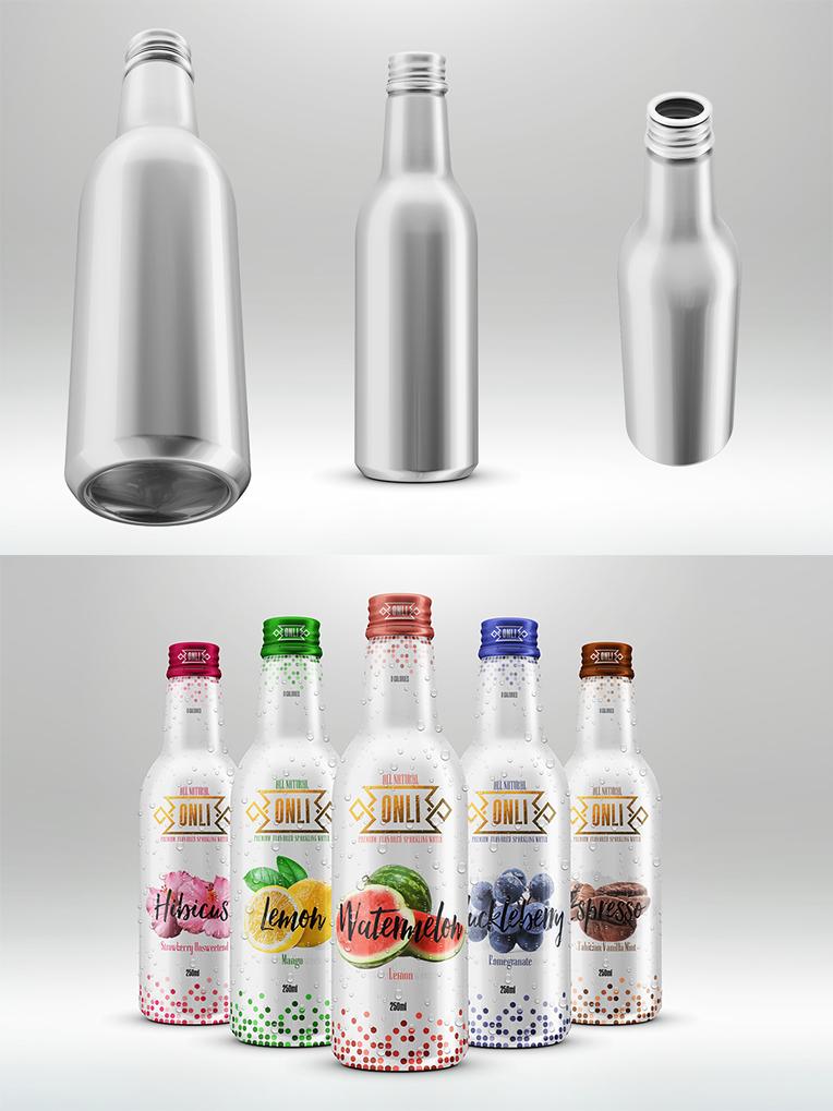 Aluminum Bottle for Fruit Juice (2)