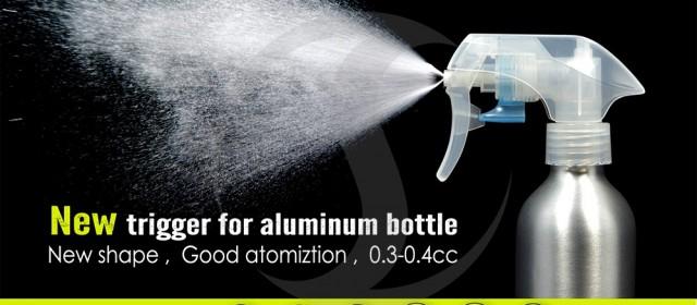 High quality spray bottles aluminum from SHINING ALUMINUM PACKAGING CO., LTD!
