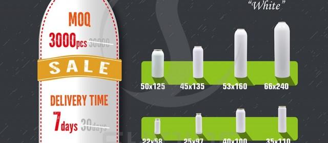 High Quality Aluminum Aerosol Bottle From SHINING!
