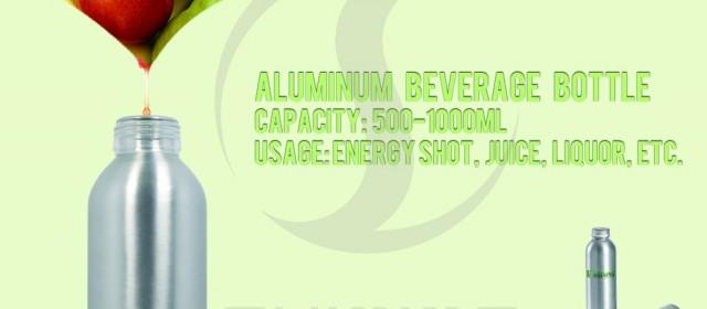 Mini Aluminum Energy Bottle from aluminum manufacturer